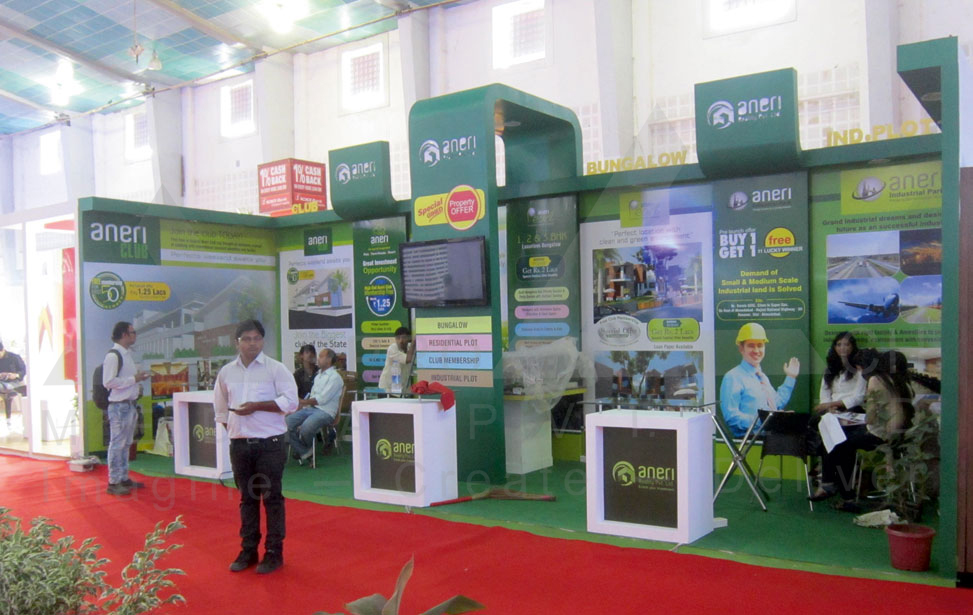 Real Estate Exhibition Stall : Real estate exhibition stall design exhibtion stall designer mumbai