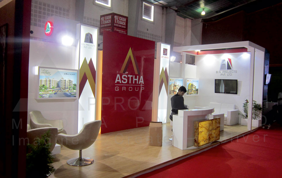 Exhibition Stall Design Portfolio : Real estate d stall design exhibtion and
