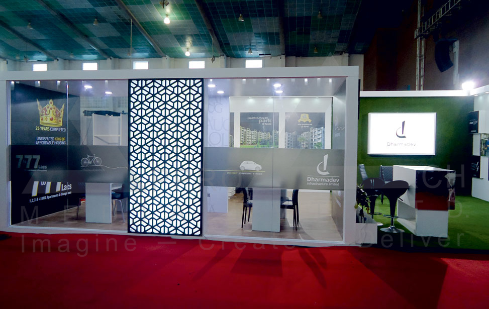 Real Estate Exhibition Stall : Exhibition stall design property show