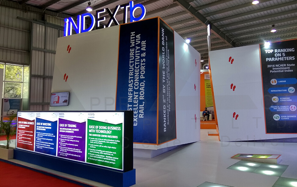 Exhibition Stall Fabricators In Ahmedabad : Exhibition stall design government