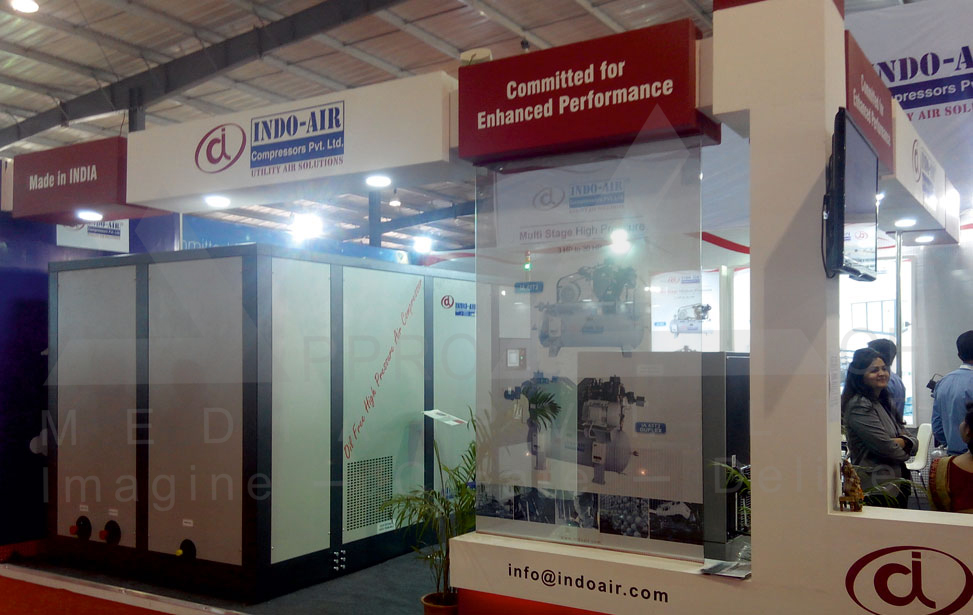 Exhibition Stall Design Agency In Ahmedabad : Exhibition stall design machine tools exhibition stall designer
