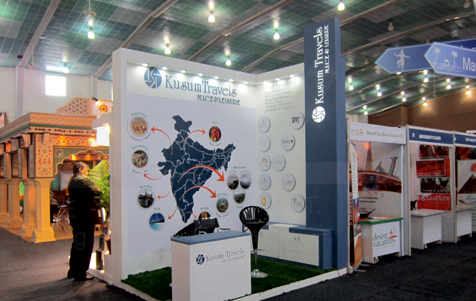 Exhibition Stall Design Agency In Ahmedabad : Exhibition travels stall design and
