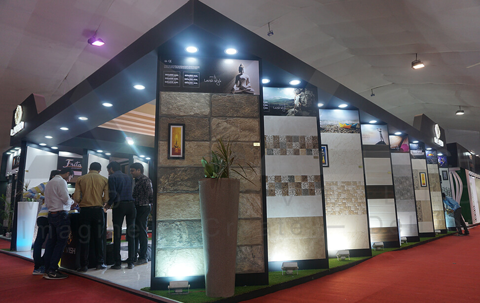 Exhibition Stall Design Company In Ahmedabad : Exhibition stall fabricator