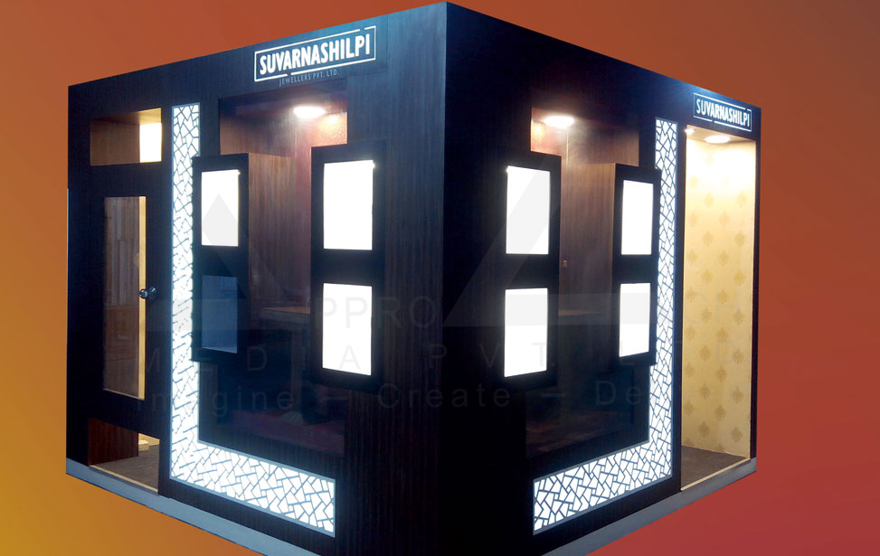 Exhibition Stall Material : Exhibition stall design bombay jewellery exhibition stall designer