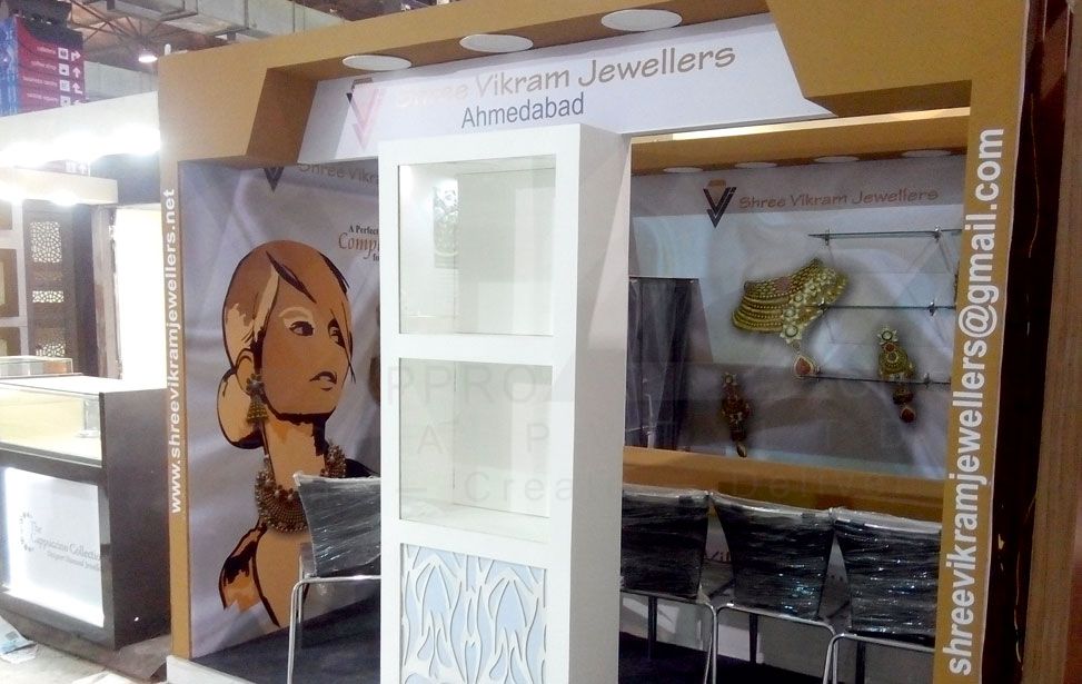 Jewellery Exhibition Stall : Jewellery d stall design exhibition