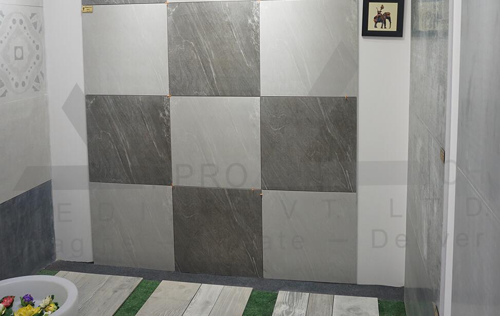 Ceramic Exhibition Stall : Exhibition stall designer fabricator
