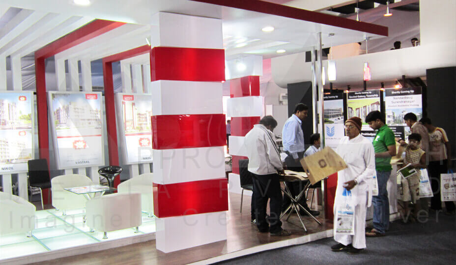 Exhibition Stall Design Agency In Ahmedabad : Affordable exhibition stall design india
