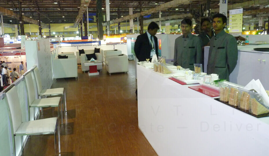 Exhibition Stall Designer In Ahmedabad : Exhibition stall design services