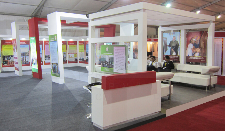 Education Exhibition Stall : Exhibtion stall designer india