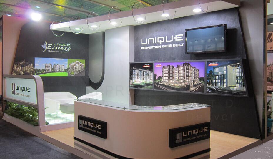 White Exhibition Stall : Exhibit display exhibition stall designer booth