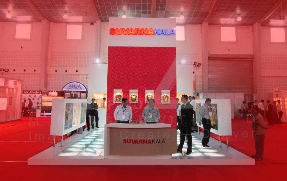 Ceramic Exhibition Stall : Exhibition stall design india